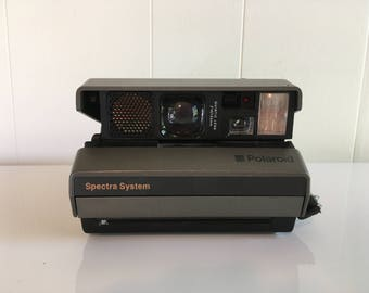 Vintage Polaroid Spectra System Instant Film Photography Impossible Project Believe in Film Polaroid Originals