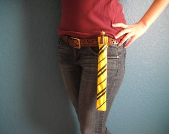 Wizard Wand Holder ~Yellow and Black~