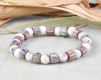 Womens Bracelet Tassel Bracelet Yoga Bracelet Gemstone Bracelet Gooseberry Beads Bracelet Stacking Bracelet Bead Bracelet Stretch Bracelet