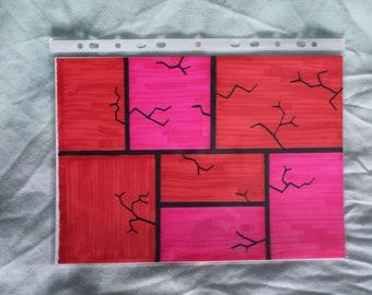 Red Shattering (Original)