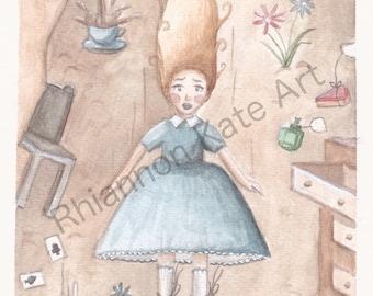 Alice in Wonderland, Art Print