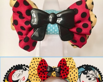 NEW!! Magic Band Bows available to coordinate with most of my Minnie ears.