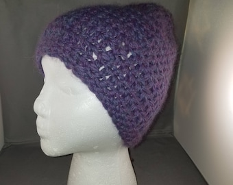 Crocheted Chunky Alpaca Hat