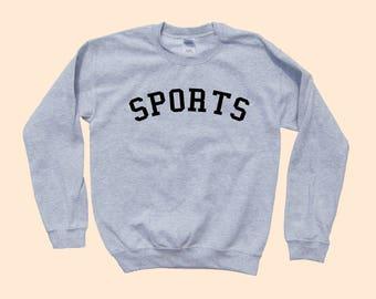 SPORTS  - Crewneck Sweatshirt