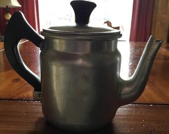 Wear Ever Child's tea coffee pot percolator