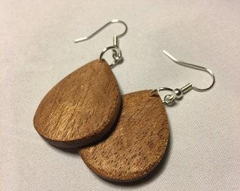 Handmade Wooden Earnings