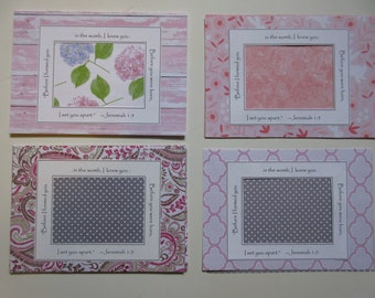 Ultrasound Frame Sonogram Frame Pregnancy Reveal Grandparents Frame Pink and White Baby Girl Shiplap Bunnies Paisley Polka Dots
