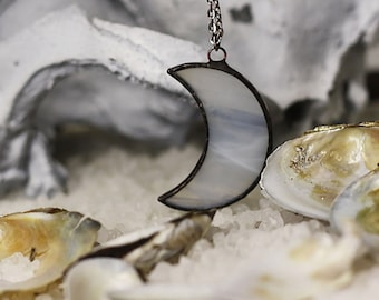 Crescent moon necklace, Cresent moon jewelry, moon necklace, bridal jewelry, boho necklace, bohemian necklace, hippie necklace, gypsy