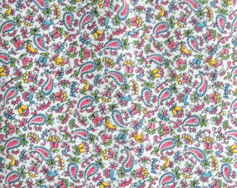 Eastern Sense Quilt Fabric by Laurie Godin, for Northcott Fabrics, 100 Percent Cotton, Fabric by the Yard Paisley Quilting Material