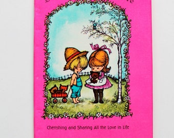 So Many Kinds of Love by Dean Walley Hallmark Book 1968