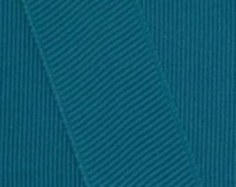DEEP TEAL GROSGRAIN Ribbon - Select Width and Length of Spool - Offray  Grosgrain Ribbon