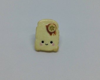 Peanut Butter and Banana Toast Pin
