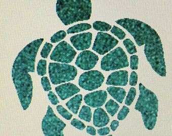 Turtle Car Decal / Car Decal / cup decal / decals / sea turtle decal