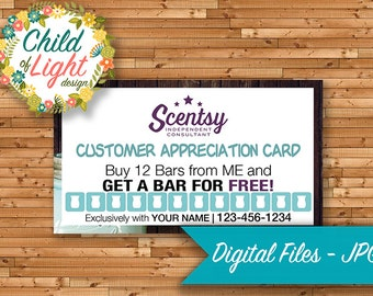 Authorized scentsy vendor business cards custom business authorized scentsy vendor business cards custom business card chasing fireflies stamp cards reheart