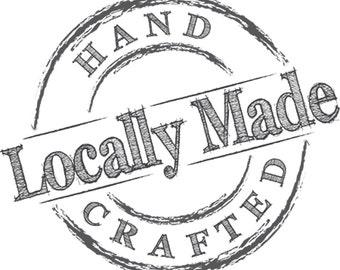 Vorgefertigte Logo Shop lokalen – digitaler Download für den Einsatz auf Verpackung & Marketing-Materialien - Geschäften vor Ort aus Logo für kleine Unternehmen
