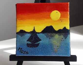 Come Sail Away With Me Mini Canvas
