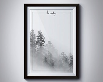 "11x14 Wall Gallery Art ""Fog""- Digital Download"