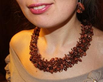 Birthday gift statement necklace elegant necklace fashion jewelry fashion gift jewelry gift aventurine necklace elegant necklace fashion