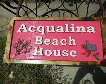 Signs, Wooden, Custom Carved, Custom Designed, One of a Kind, Address, Decorative, Permanent, Animated, UV Protected, House Sign, Plaque,