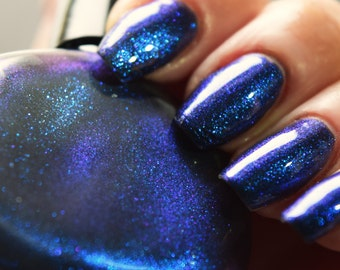 P.O.P Nail Polish The Dis Collection Disaffected Jelly Glitter Flakies Dark Anti Valentines Goth