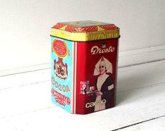 Old Dutch tin 'Droste Cacao'
