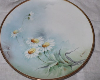 Anniversary Gift, Gift For Her, Gift For Daughter, Daisy Plate, Wall Plate, Housewarming Gift, Wall Decor, Lake House Decor
