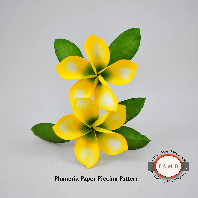 3d plumeria tropical hawaiian flower svg digital die cut paper this is a digital file izmirmasajfo