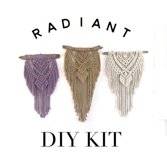 "DIY KIT ""Radiant"" Wall Hanging"