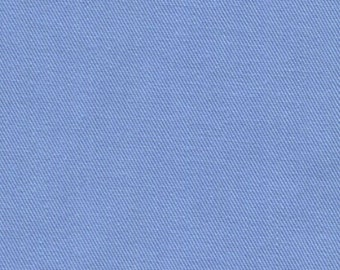 Recycled Water Bottle Fabric ORGANIC Cotton Blend Eco Twill Light Blue MULTIPURPOSE