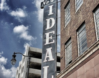 New Ideal Sign, Architectural Wall Art, Office Decor