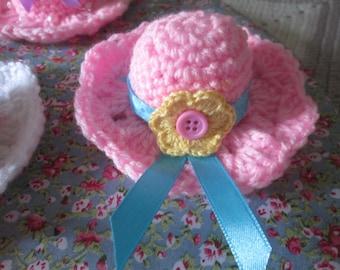 Mini Hat Crochet Pattern PDF instant download US Pattern