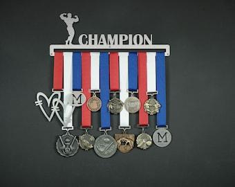 Medal Holder ,Medal Display ,Medal Hanger Champion (Male)