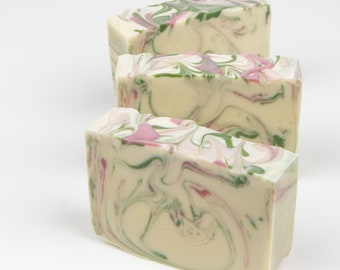 Rose Soap - Handmade Soap - Handmade Soap - Cold Process Soap - Vegan Soap - Natural Soap
