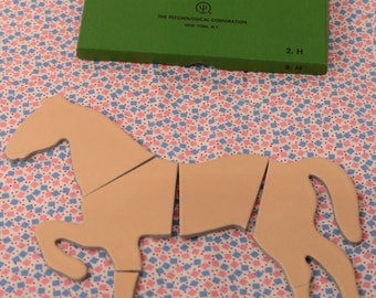 WISC Wechsler Intelligence Scale For Children Object Assembly Puzzle H Horse