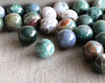 20 mm Moss Agate Sphere S37