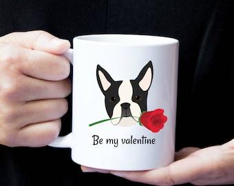 Personalized Boston Terrier Mug, Boston Terrier Coffee Mug, Boston Terrier Mug, Boston Terrier Love Mug, Dog Love Mug, Boston Terrier Mug