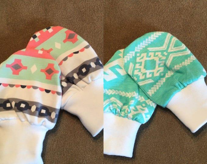 New born scratch mittens - baby scratch mittens
