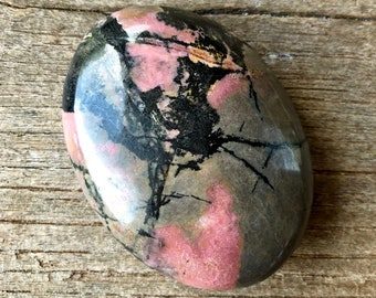 Rhodonite stone- 135 g