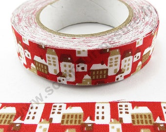 Adhesive fabric - city - 15mm x 5 m