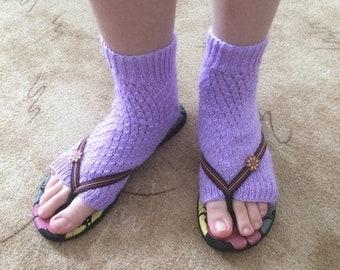 ON SALE - 10% OFF Sandal socks... Summer knitted socks