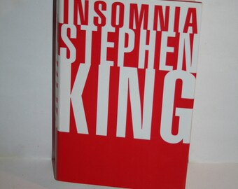 "Vintage 1994 Stephen King ""Insomnia"" First / Book Club Edition?  DJ / HC From an Estate of 37 Stephen King Books!  Clean!"