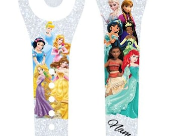 IMPROVED 2.0 Magic Band Decals, Disney Princesses, royalty,  squad goals, personalized band