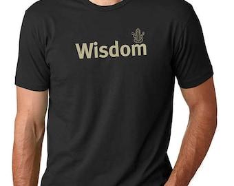 Men's t shirt /Wisdom t-shirt/Ganesha Shirt /Shirts with sayings/ Spiritual Shirt /Men's t-shirt /Gift for him/Life is Balance /yoga tee
