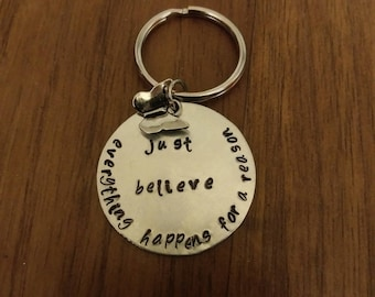 Just believe keychain