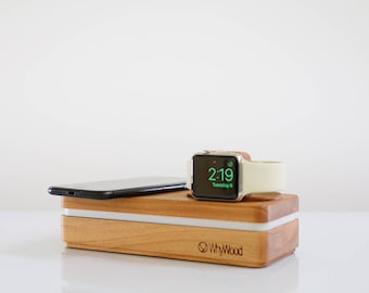 Dockit W2 - Wireless Charging Apple Dock for iPhone Apple Watch and more - Every cable included