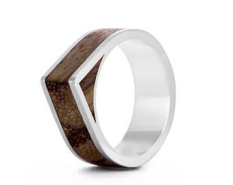 Native Edge - geometric wood rings UK