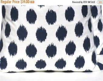 15% Off Sale NAVY BLUE PILLOW, Decorative pillow covers, Blue Pillow - Navy Pillow - Ikat Pillow - Lumbar Pillow - Lumbar Pillow covers - Pi