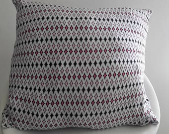 Cushion cover 40 x 40 cm geometric patterns