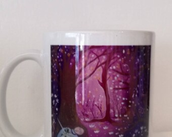 """Mug """"with you my sweet"""" derived from my paintings"""