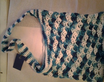 100% Cotton Crocheted Market  Bag